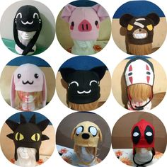 Gorros Kawaii Otaku Anime Jake Finn Chimuelo Deadpool - Bs. 8.000 109e0c9328a