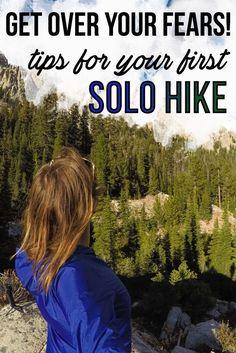 over your Fears! Tips for Hiking Alone Have you let your fear of hiking alone keep you indoors? Well its time to tackle those fears. Here's 5 tips for staying safe on your first solo hike.The First The First or The may refer to: Thru Hiking, Hiking Tips, Camping And Hiking, Camping Hacks, Camping Gear, Camping Checklist, Camping Equipment, Tent Camping, Camping Supplies