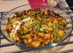 Recept voor Zuid-Afrikaanse Bobotie (vegetarisch) - Keukenneusje Quiche, Cooking, Breakfast, Food, Africa, Kitchen, Morning Coffee, Essen, Quiches