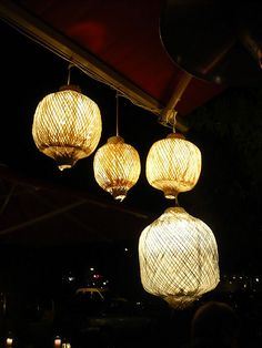 Lanterns in front of Vietnamese restaurant Si An, located in Prenzlauer Berg in Berlin. They serve wonderful noodle soups, dumplings and sweet Asian smoothies.