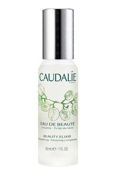 """""""I keep my beloved Caudalie Beauty Elixir on hand to simultaneously set my makeup and provide instant refreshment. It's particularly useful during spring/summer Fashion Week, when the temperatures are high and things tend to get a bit sweaty.""""—Victoria Hoff, editorial assistant $18; sephora.com   - ELLE.com"""