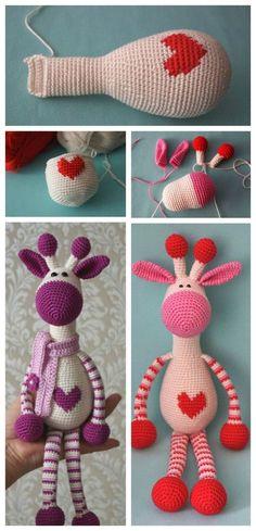 Cute Crochet Giraffe Free Pattern P - Cute Crochet Giraffe Amigurumi Free Pattern