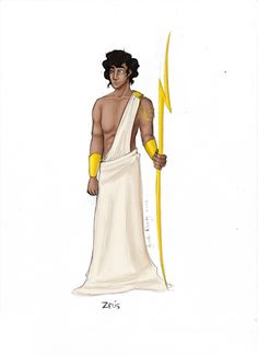 Greek God: Zeus by JadeAriel.deviantart.com on @deviantART