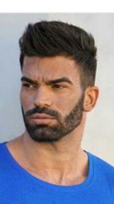 Hair And Beard Styles, Hair Styles, Gents Hair Style, Bearded Men, Hair Cuts, Hot Guys, Haircuts, Hair, Hair
