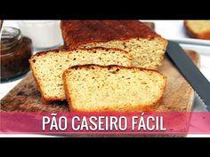 PÃO CASEIRO FÁCIL COM GRÃO-DE-BICO SEM GLÚTEN E SEM LACTOSE - Amor Pela Comida | Reeducação Alimentar com a Chef Susan Martha