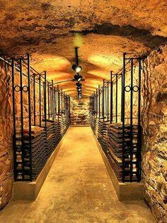Biltmore Estate NC - Wine Cellar by Luis Fernando Useche. Amazing wine cellar. #halfbottle #halfbottles #winery #wine #cellar #winecellar http://www.halfbottles.com.au
