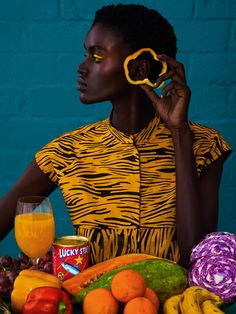 Electric Editorial by Elena Iv-skaya – Trendland Online Magazine Curating the Web since 2006 Photography Series, Beauty Photography, Editorial Photography, Fashion Photography, Beautiful Series, Black Is Beautiful, Afrique Art, Vogue Covers, Portrait Inspiration
