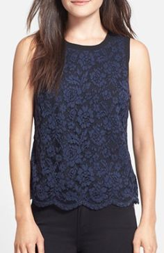 lace overlay shell  http://rstyle.me/n/qc672pdpe