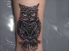 Owl Tattoo Cover-Up idea