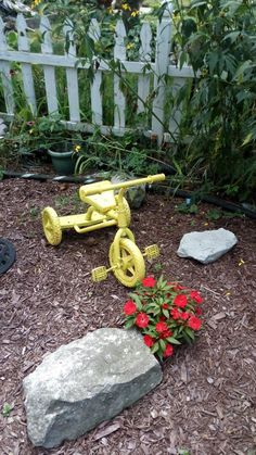 Garden Decorative Tricycle