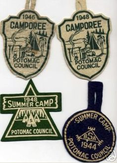 Camp patches/badges