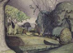 John Nash, The Thunderstorm British Artist, Collage Illustration, Cool Landscapes, Landscape Paintings, Artist, Romanticism Artists, Painting, Impressionism Painting, Uk Artist