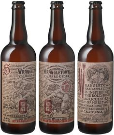 Wrangletown Hard Cider on Packaging of the World - Creative Package Design Gallery