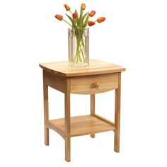 Shop for Curved End table/Night Stand With One Drawer. Get free shipping at Overstock.com - Your Online Furniture Outlet Store! Get 5% in rewards with Club O!