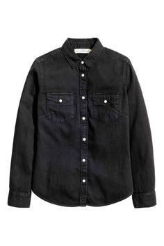 Camisa em ganga | H&M