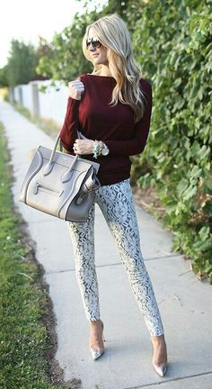 I need these pants in my life!