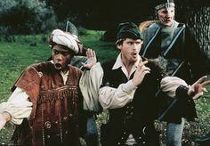 """Robin Hood Men in Tights-""""Au contraire... what we need is great strength of feet!"""""""