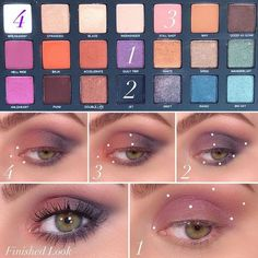 Born To Run Lidschatten-Palette Trip- Angewendet auf … What is Makeup ? What's Makeup ? Urban Decay Makeup, Urban Decay Eyeshadow, Makeup Geek, Makeup Inspo, Eyeshadow Makeup, Makeup Brushes, Smokey Eyeshadow, Glitter Eyeshadow, Makeup Palette