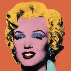 Andy Warhol : Shot Orange Marilyn, 1964 #art