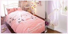 bed, bed room, bedroom, cute, hime, japan