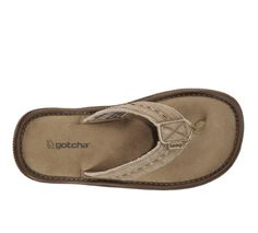 Gotcha Bonnaroo Mens Flip Flops...Another  choice for beach or site seeing! #Like