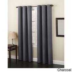 Laurel Creek Blanche Grommet Window Curtain Panel 63 Inches