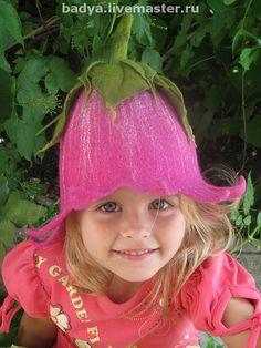 Купить Шапочка для бани, сауны детская - шапочка, шапка для бани, для бани, шапка для сауны