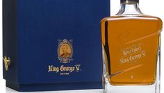 Johnnie Walker Blue Label King George V Edition Scotch Malt Whisky | Spirits    While the regular Johnnie Walker Blue Label combines rich and luxurious fruitcake and cream flavors, this special edition of Blue Label King George V is more restrained, more layered, and much more complex. Worth Knowing The spirit's limited release in 2007 marked the appointment of Johnnie Walker and Sons as purveyors of whisky to the royal household in 1934.