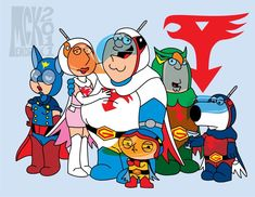 "FAMILY GUY ""BATTLE of the PLANETS"""