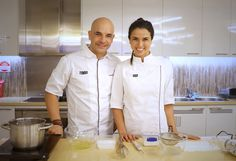 The stars of Zumbo's Just Desserts stopped by, so we decided to get their help… Zumbo Recipes, Zumbo Desserts, Zumbo's Just Desserts, Healthy Dessert Recipes, Healthy Food, Adriano Zumbo Cakes, Perfect Martini, Cheese Souffle, Chocolate Souffle