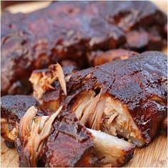Crock Pot Ribs - Fall off the bone tender.  Make it fast, cook it slow.