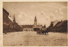 Masarykovo náměstí, před 1. sv. válkou
