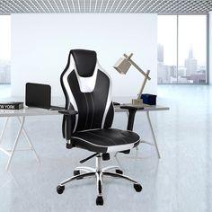 Moderní designová kancelářská židle RACER s nosností 150 kg.