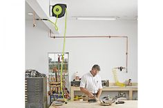 Plumb your shop for air   WOOD Magazine
