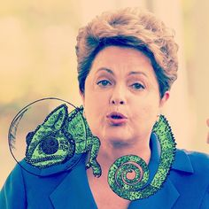 It was not my choice, but we all believe in Brazil. We can be a better country. Good luck, Dilma Rousseff. Make a great job because the Brazilian people deserve. Astromeleon is watching you! - #art #artwork #artist #artgallery #newartwork #fineart #creative #arte #black #white #draw #drawing #sketch #illustration #brazil #brazilianart #brazilian #sp #saopaulo #pen #pencil #ink #astromeleon #animal #nature #president #dilma