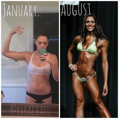 Blog filled with workouts and meal plans!! Healthy recipes that are fast and easy. An amazing transformation to bikini competitor all following her own plan