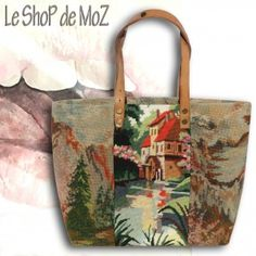 Bag or Tote ?  #shabbychic #vintage leshopdemoz.com