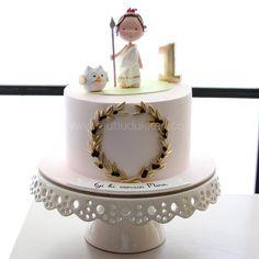 Fondant Cakes, Cupcake Cakes, Cupcakes, Little Girl Cakes, Sugar Craft, Cake Art, Sweet, Cake Decorating, Desserts