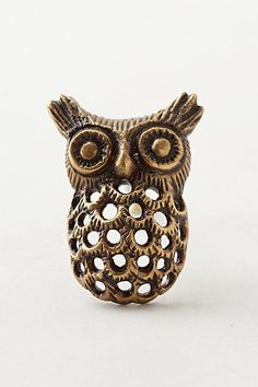 Calico Owl Knob | Making Room For Baby | Pinterest | Owl, Anthropologie And Door  Knobs