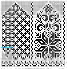 Ravelry: Norwegian Rose - Selbu mittens pattern by Katrine Knitted Mittens Pattern, Fair Isle Knitting Patterns, Knit Mittens, Knitting Charts, Knitted Gloves, Knitting Stitches, Knitting Socks, Fair Isle Chart, Norwegian Knitting