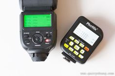 Phottix Mitros 109 all in one radio flash system. No need for Pocket wizard. Canon and nikon