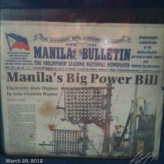 アジアで最高値。Tokyo $0.2/kwh and Manila? $0.23!? #meralco... #asia #highest #rates #electricity #philippines