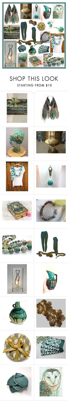 """A S-TEAL of a Deal"" by belladonnasjoy ❤ liked on Polyvore featuring memento, modern, rustic and vintage"