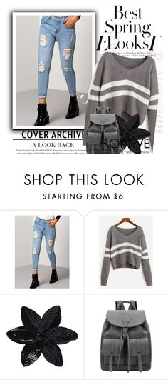 """""""Romwe#07"""" by irmica-831 ❤ liked on Polyvore featuring ASOS and H&M"""