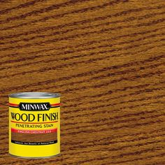Minwax 1 qt. Wood Finish English Chestnut Oil-Based Interior Stain-70044 - The Home Depot