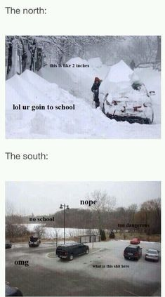 It always makes me chuckle! Snow humor, northern humor its funny because I've been in that situation way too many times Look Here, Look At You, Fandoms Unite, Haha Funny, Funny Cute, Funny Stuff, Funny Things, Random Stuff, Funny Memes