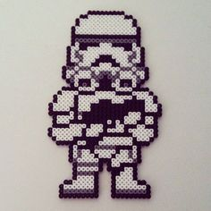 Stormtrooper - Star Wars hama perler beads by color_shock