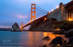 Golden Gate Bridge San Francisco California America - Golden Gate Bridge San Francisco California America