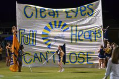Clear Eyes, Full Hearts, Can't Lose
