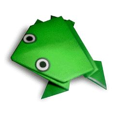 Origami for children of paper: simple scheme for